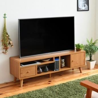 テレビ台 幅110cm 木目 ナチュラル (FAP-0034-NA) pico テレビボード TV リビング 収納