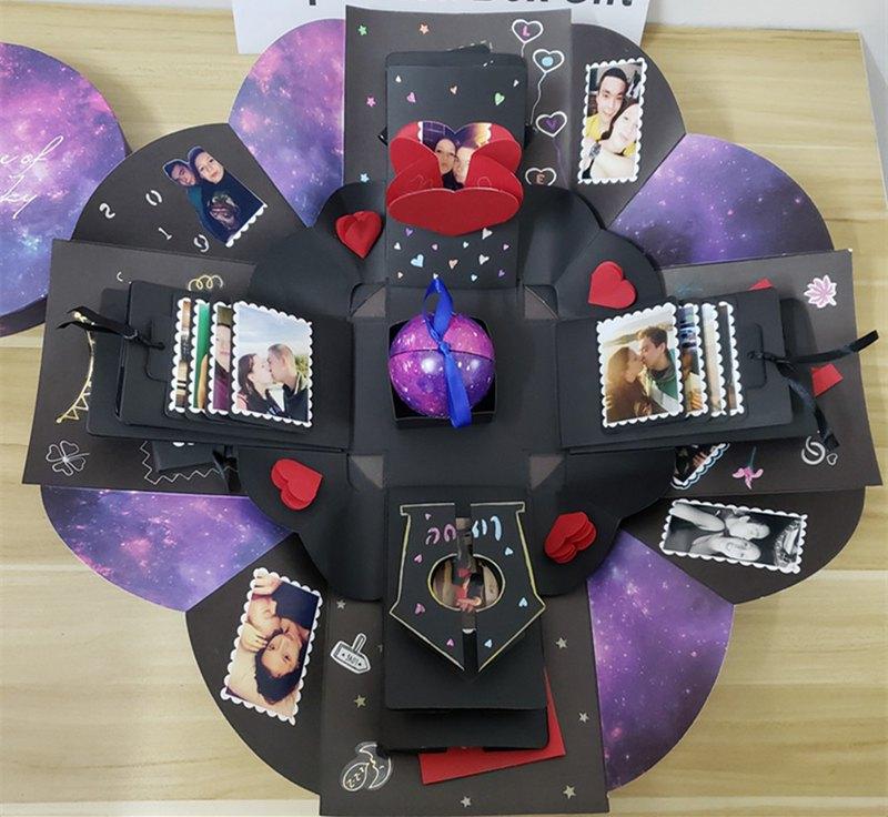 璀璨星空爆炸盒,女生生日,女朋友 禮物,女生 禮物,男朋友 禮物