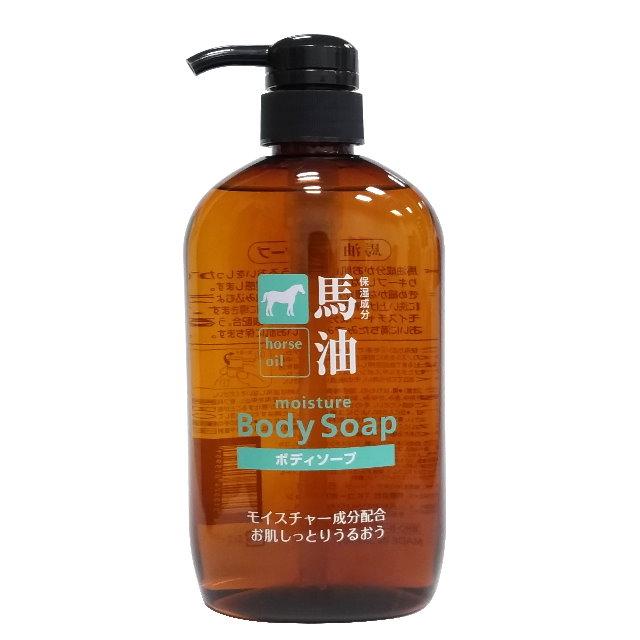 日本熊野HO馬油保濕沐浴乳  600 ml