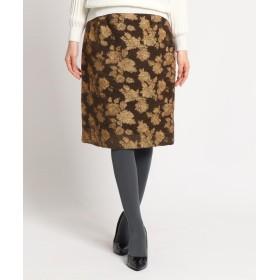 SunaUna(スーナウーナ) ゴブラン風ジャカードスカート