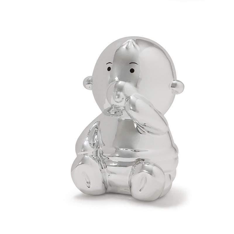 閃光寶寶存錢筒 - 銀色