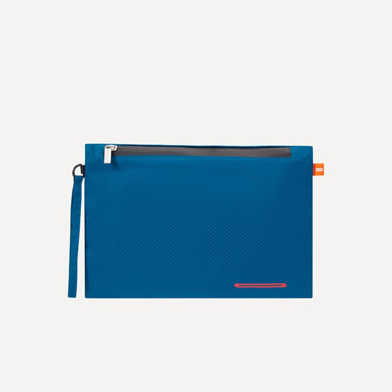 BeeNesting可壓縮防潑水旅行内衣收納袋 NEW LITE-深蓝红