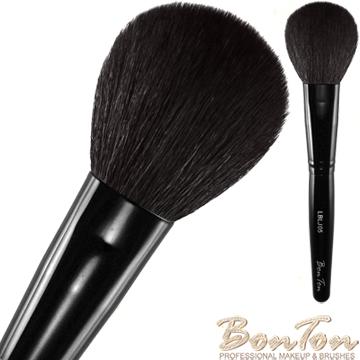 BonTon 墨黑系列 扁式半圓形腮紅刷 LBLJ05 特級尖鋒羊毛