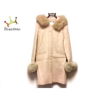 ミーア Miia コート サイズ3 L レディース 美品 ピンクベージュ 冬物   スペシャル特価 20200115