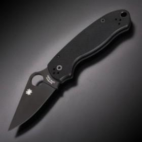 Spyderco 折りたたみナイフ Para3 G-10 ブラック CPM-S30V[sc223gpbk]