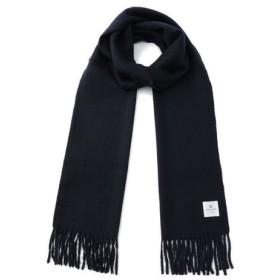 LANVIN en Bleu / LANVIN en Bleu(ランバンオンブルー) カシミヤ100% 無地マフラー(モンゴル製) 繊維が長く 強度が高い 繊維の宝石  2LB610-52