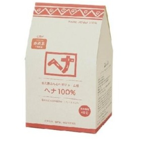 ナイアード ヘナ100パーセント赤茶 400G