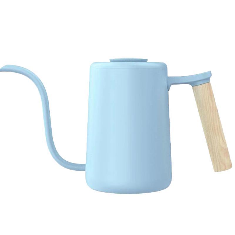 魚YOUTH手沖咖啡壺-冰河藍