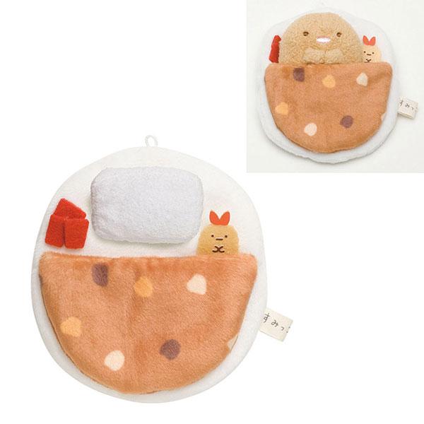 San-X 角落生物沙包玩偶迷你床套床單配件。炸蝦尾款