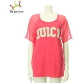 ジューシークチュール カットソー レディース 新品未使用 ピンク系 Tシャツ・カットソー   スペシャル特価 20200111