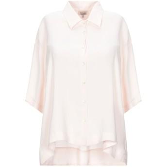 《セール開催中》HER SHIRT レディース シャツ ライトピンク M シルク 94% / ポリウレタン 6%