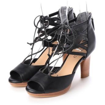 アンタイトル シューズ UNTITLED shoes パンダル (ブラック)