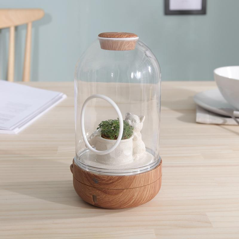 DIY小屋-還要等多久(搭配種子包) 木紋