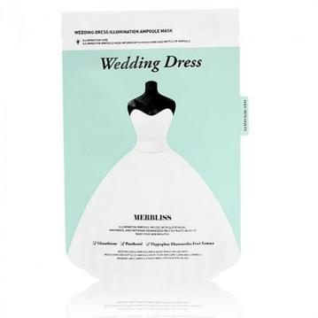 MERBLISS 婚紗安瓶補水面膜(單片) #綠(提亮)