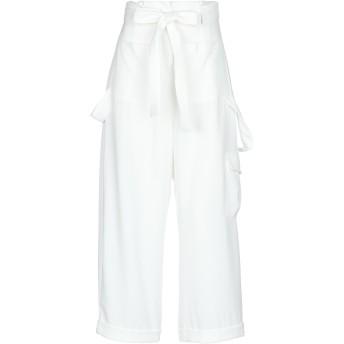《セール開催中》IMPERIAL レディース パンツ ホワイト XS ポリエステル 95% / ポリウレタン 5%