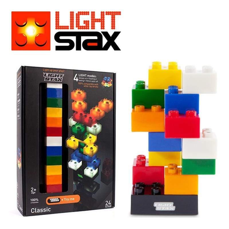Classic創意LED積木(大顆粒24入)