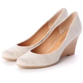 アンタイトル シューズ UNTITLED shoes パンプス (シルバーファブリック)