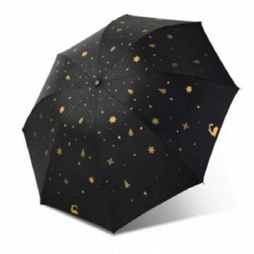 超萌動物晴雨兩用傘  黑色小鹿