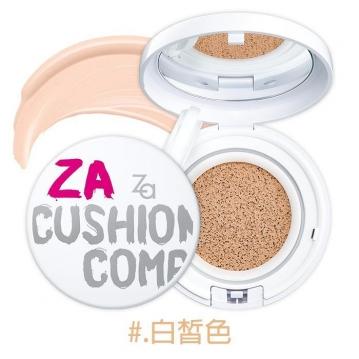 日本 SHISEIDO 資生堂 ZA 裸光亮白氣墊粉餅 SPF30/PA++ 12g #.白皙色