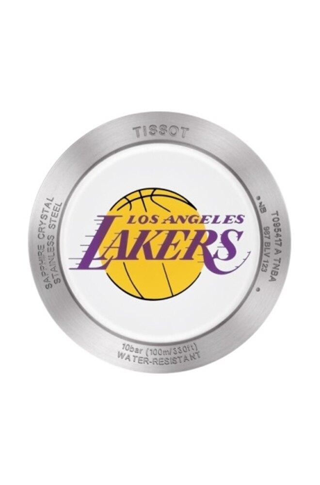 天梭TISSOT NBA洛杉磯湖人隊特別版款錶T0954171703705/42mm