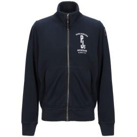 《セール開催中》PARAJUMPERS メンズ スウェットシャツ ダークブルー XS コットン 100%