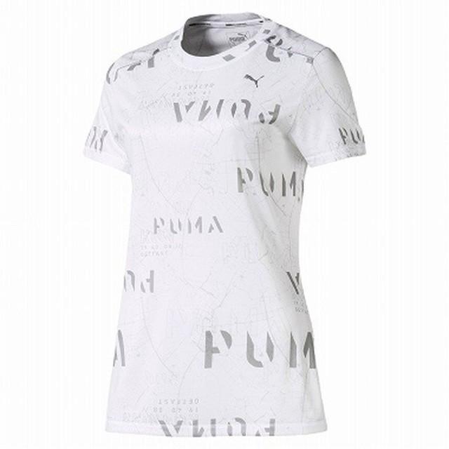 PUMA(プーマ) LAST LAP グラフィック SS Tシャツ フィットネス Tシャツ 518754-03 レディース