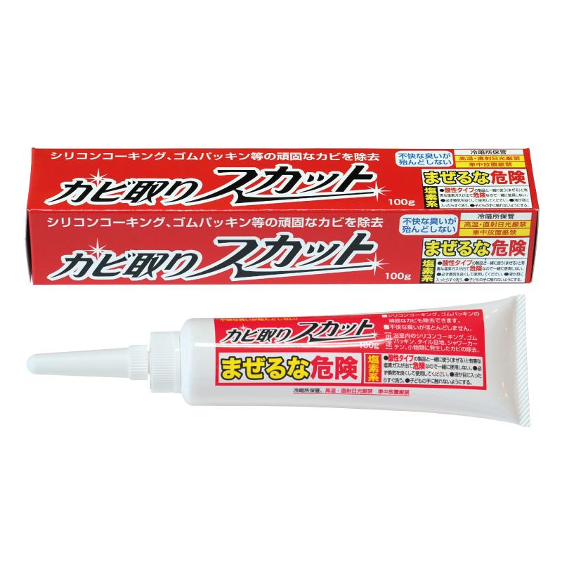 矽立清除霉凝膠 100g  日本製  輕鬆快速除霉  日本製  鈴木油脂