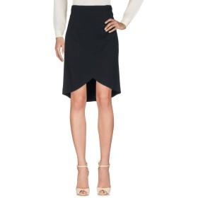 《セール開催中》VDP COLLECTION レディース ひざ丈スカート ブラック 42 レーヨン 80% / ナイロン 10% / ポリウレタン 10%