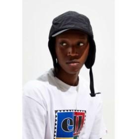 アーバンアウトフィッターズ Urban Outfitters メンズ キャップ 帽子 ear flap 5-panel hat Black
