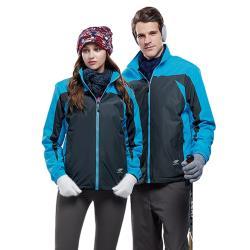 【Londa Polo】防水透氣女版雙面穿外套P91142水藍色