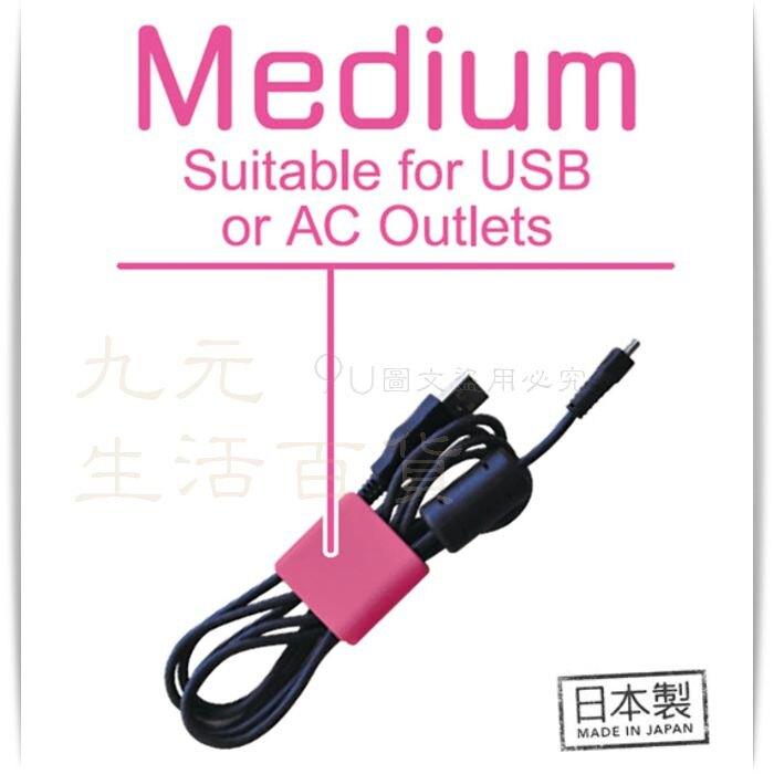 【九元生活百貨】小久保 KM-005 雙孔電纜夾/中 雙孔集線夾 收線夾 捲線器 線收納 電線夾 日本製