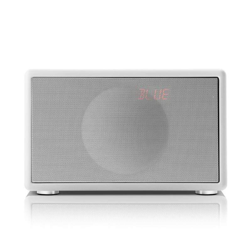 Classic S HIFI 藍牙鬧鐘收音機喇叭 - 白色
