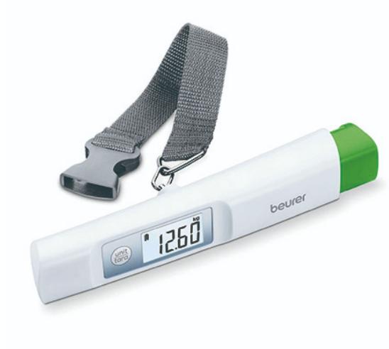 博依 beurer  LS20 環保免電池行李秤重計