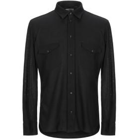 《セール開催中》MAURO GRIFONI メンズ シャツ ブラック 38 コットン 100%