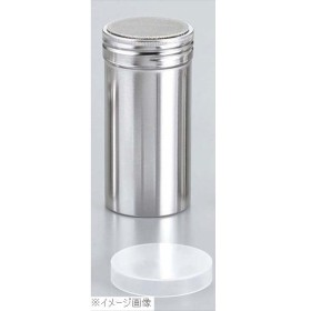 18-8(ステンレス) パウダー缶(アクリル蓋付)ロング φ55×115