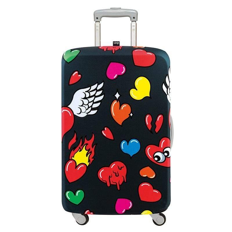 行李箱外套 - 愛心S號