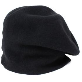 agnes b 変形 ベレー帽 帽子 ブラック サイズ:− (高槻店) 191012