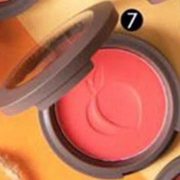 SIVANNA HF-6017 蜜桃紅潤好氣色頰彩盤  7
