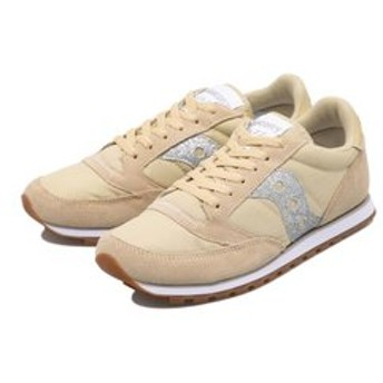 【ABC-MART:シューズ】S60498-2 WMNS JAZZ LOW PRO GLITTER TAN/SILVER 597868-0001