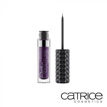 德國 Catrice 卡翠絲 晶鑽搖滾眼線液 050 神秘紫