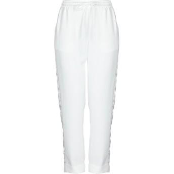 《セール開催中》P.A.R.O.S.H. レディース パンツ ホワイト S ポリエステル 100%