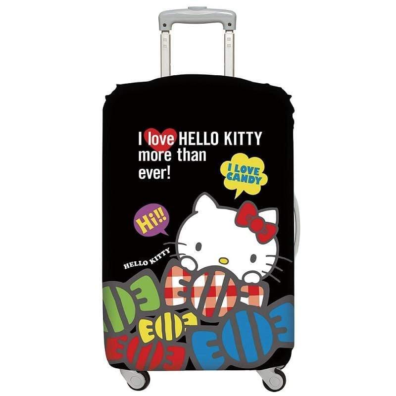 行李箱套 - Hello Kitty 酷黑 M號