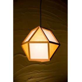 【送料無料】新洋電気 ペンダントライト 的 mato S 1灯タイプ AP830-E 白×山吹