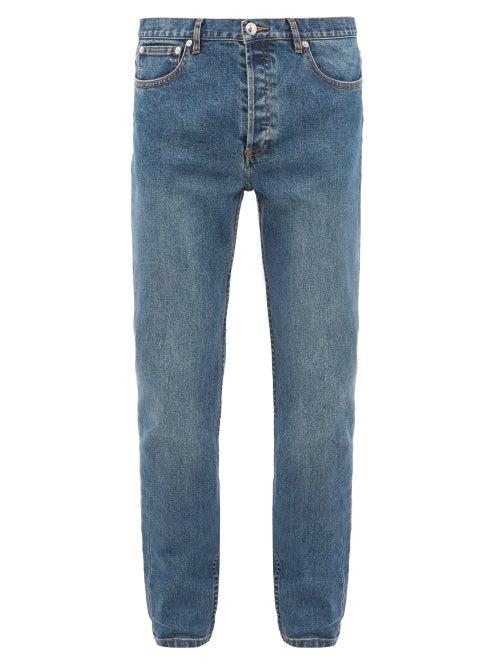 A.P.C. - Petit New Standard Slim-leg Jeans - Mens - Indigo