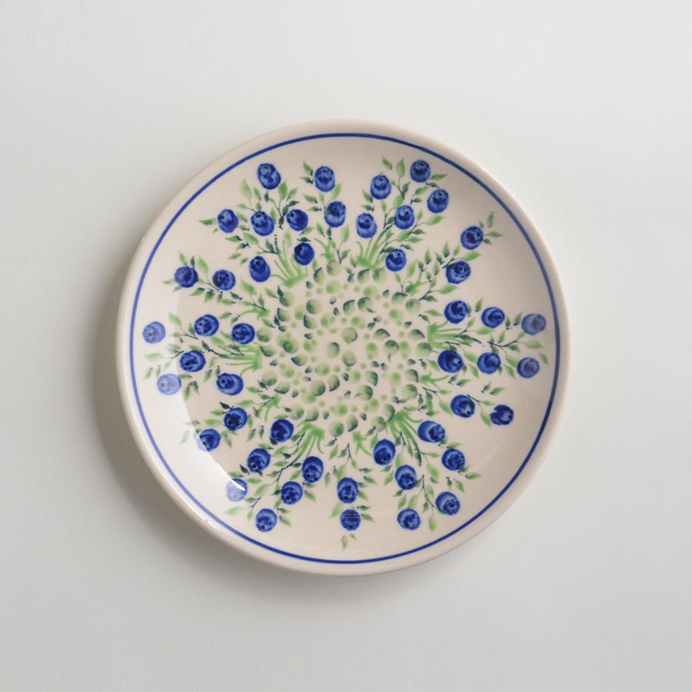 波蘭陶 粉紫浪漫系列 淺底圓形餐盤 陶瓷盤 菜盤 點心盤 圓盤 沙拉盤 19cm 波蘭手工製