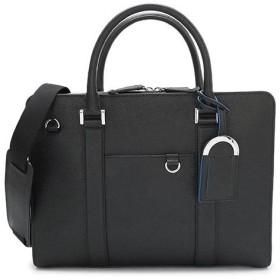ブルガリ ブリーフケース 37924 メンズ ビジネスバッグ ブルガリ・ブルガリ レザー ブラック 黒 BVLGARI BB MAN