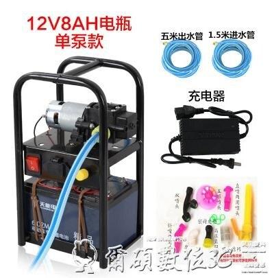 電動噴霧器電動農用手提式打機彌霧機洗車機抽水機高壓隔膜泵機器