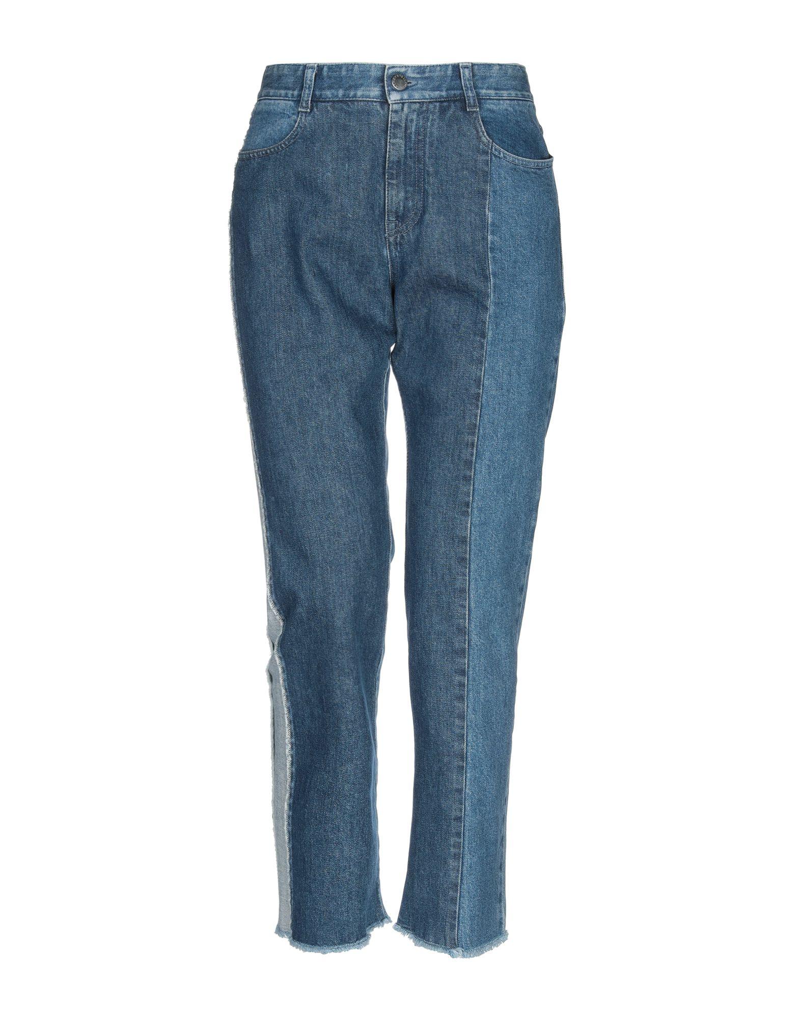 STELLA McCARTNEY Denim pants - Item 42696838