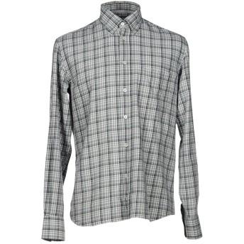 《セール開催中》CANALI メンズ シャツ グレー S コットン 100%