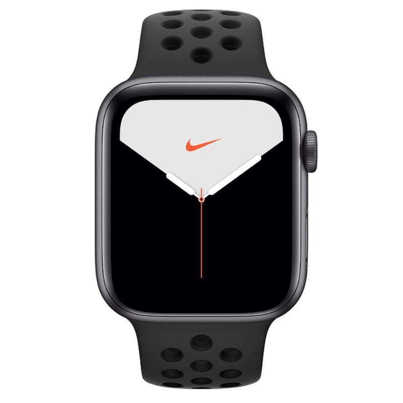 Apple Watch S5 GPS 44mm 太空灰色鋁金屬-Nike 運動型錶帶